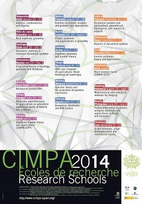CIMPA 2014